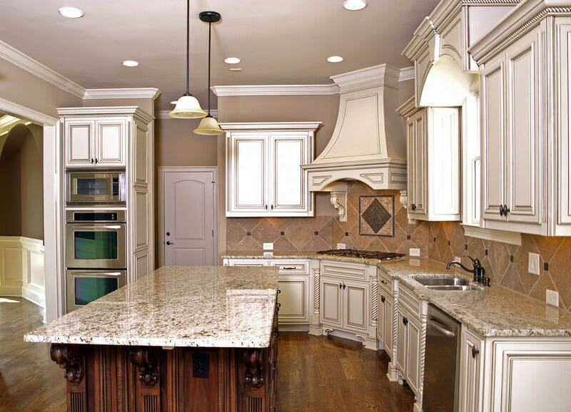Our Kitchen Cabinet Glazing Finish Provides: